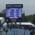 MEDLEY WINS THE DRAKE RELAYS!!!  New School record New Drake Relays record #1 TIME IN NATION https://t.co/Dh1ECCTwmP