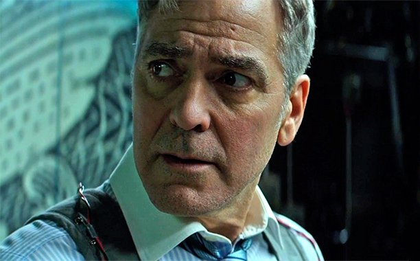 George Clooney dodges a bullet in this exclusive @MoneyMonster clip: