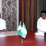 Im optimistic that President Buharis trips will very soon begin to yield benefits in the interest of all Nigerians https://t.co/zl5bjkXmcH