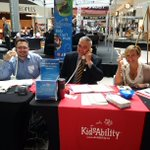 Thanks to @citywaterloo Mayor @DaveJaworsky for answering phones today in support of @KidsAbility! #KidsCantWait https://t.co/O1Uwl2n33f