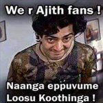 AJITH THE SLAVE OF TN no captions needed :D https://t.co/O9gwuYRKtW
