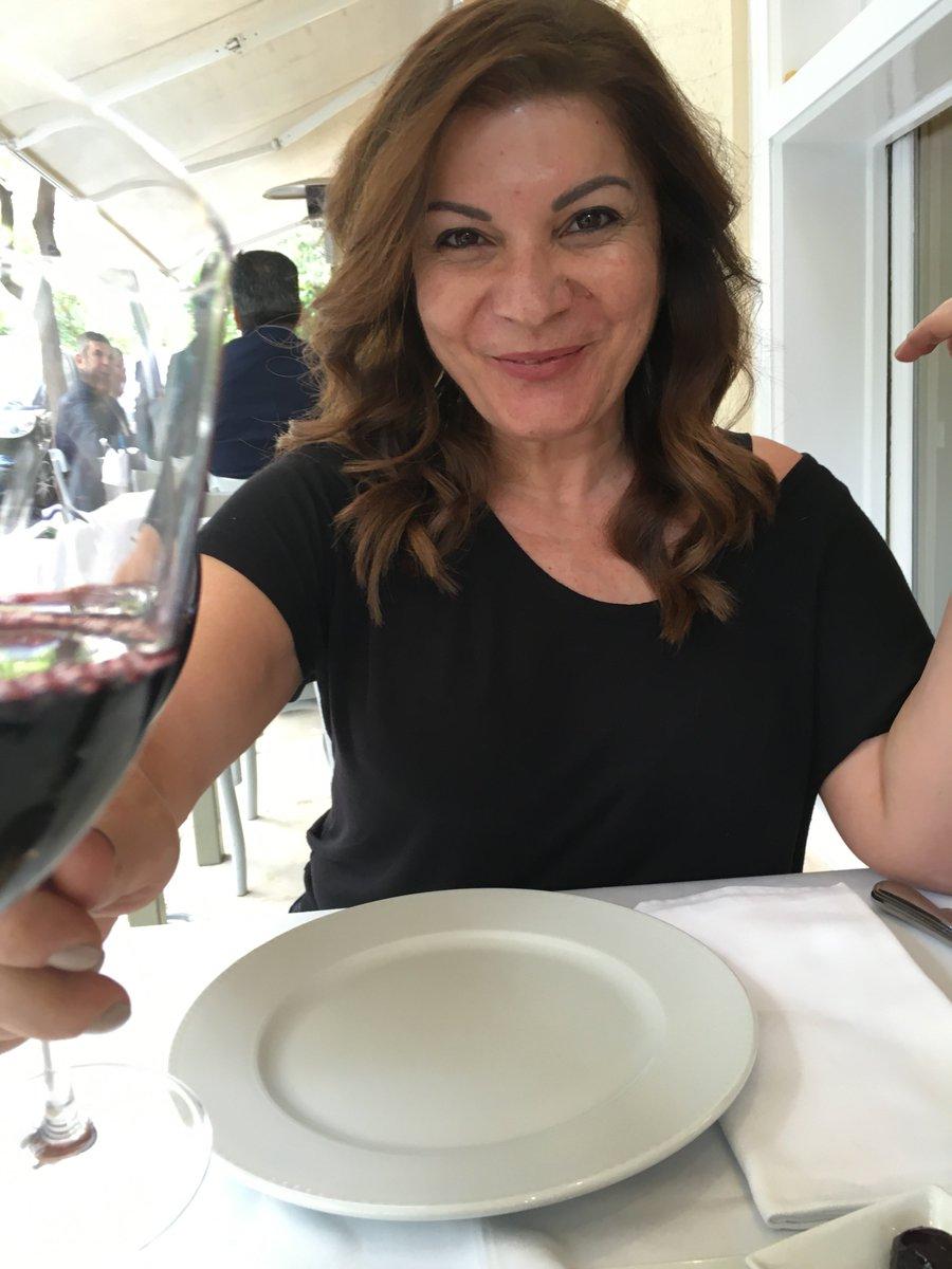 Pre #Easter toast with the Queen of Greek Cuisine Chef Argiro Barbarigou—Kaló Páscha to #Greeks around globe #greece https://t.co/bgU2wPb2ws