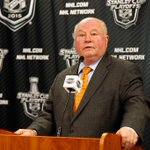 THIS JUST IN: Ducks fire Bruce Boudreau. He went 208-104-40 with Anaheim and won 4 straight Pacific Division titles. https://t.co/I3WMGQ7pBe