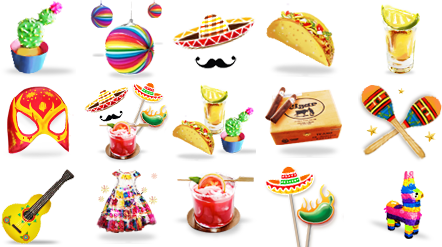 the 1st to the 5th is our #CincodeMayo contest! The model with the most Cinco de Mayo Themed virtual