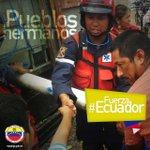 Fuerza de Tarea Humanitaria Simón Bolívar continúa desplegada en zonas afectadas en Ecuador https://t.co/omrc3txkQg https://t.co/sot7jUeSvC