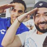 FOTO: @ClubTiburones ya llegó y @leolopezg2 le recordó a @TigresOficial el festejo que hizo cuando jugó en @Rayados https://t.co/r3dcEBQM6k