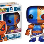 RT & follow @FunkoDCLegion for your chance to win a PX exclusive Metallic Deathstroke Pop! https://t.co/Ji35wSi8Of