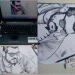 Thala Pencil Sketch #1DayForTHALANewYear https://t.co/kKuTj7WBiI