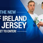 #WIN the new away Republic of Ireland jersey! Simply RT to enter! Info > https://t.co/DIC5h9pBnL #COYBIG #EURO2016 https://t.co/a3wr5btzdz