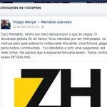 Achamos. A confissão do agressor (advogado-com-mestrado) ao mestre de ódio gratuito, Reinaldo Rola-Bosta Azevedo. https://t.co/plAg1sKrsJ