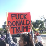 Protest of #DonaldTrump outside #CAGOPConvention #DumpTrump #cagop #trump https://t.co/CPy4V24ONR