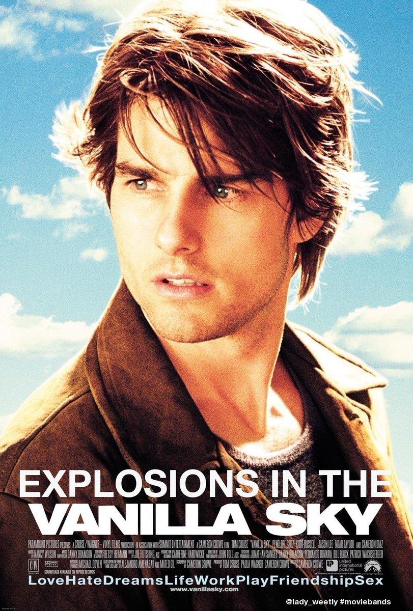 .@bunburyfestival Explosions In The Vanilla Sky #moviebands https://t.co/sZLJKS3sf8
