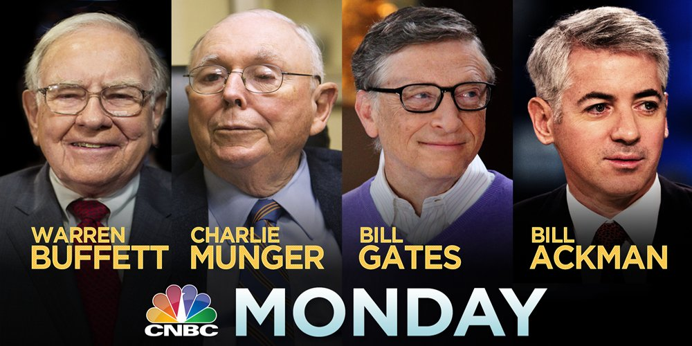The line-up on @CNBC Monday... wow. https://t.co/u25sk9t5nA