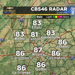 On our way to a 122-year old record #Atlanta. Record high 88/1894. @cbs46 #gawx #staysweaty https://t.co/KQGGH9TSG9