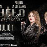 Un #DueloDeEstrellas llegará a #Monterrey con @paquitaoficialb y @AVWERITA Boletos en taquilla y @SuperboletosMx https://t.co/Z3LaEbYO0m