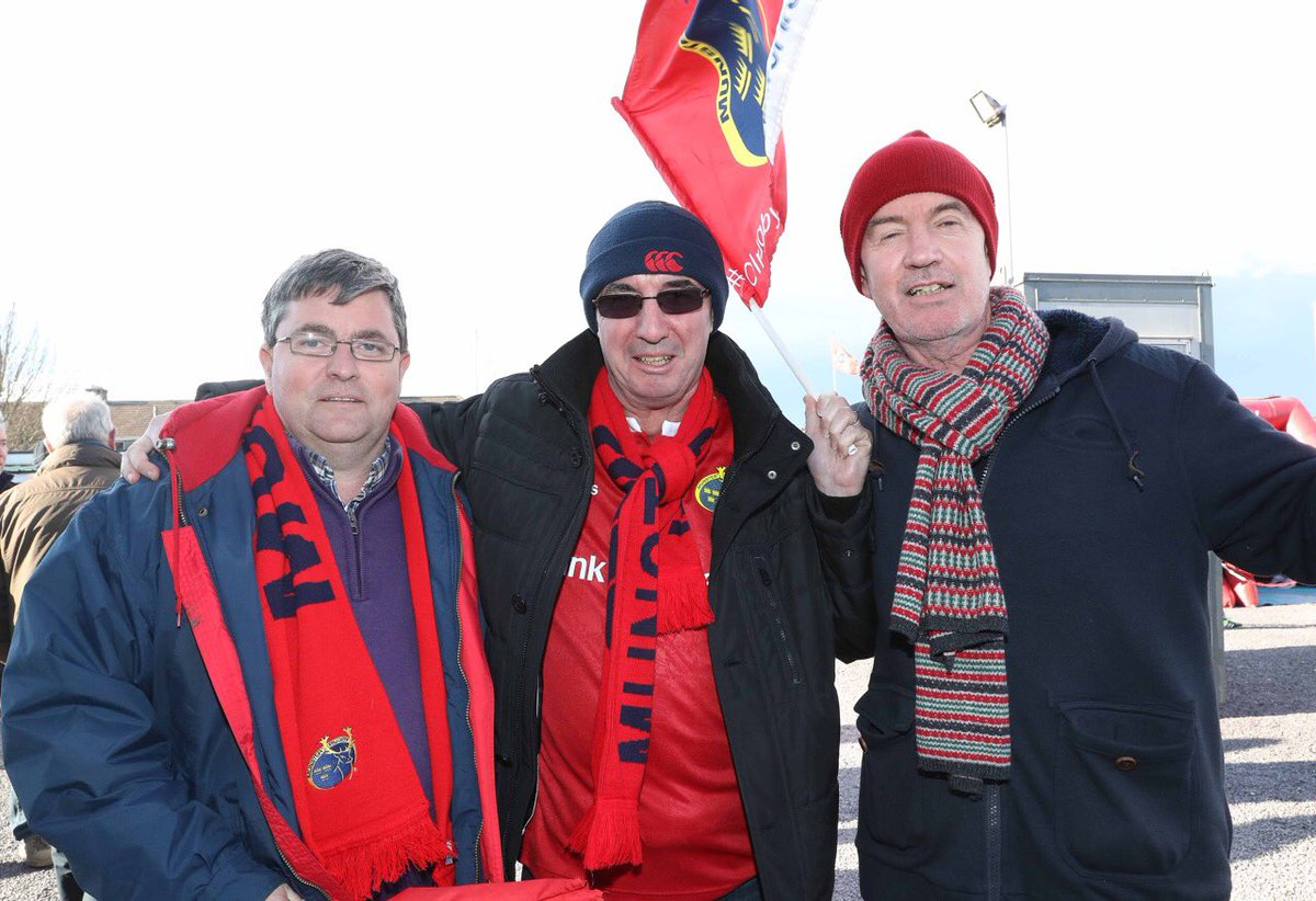 The atmosphere is building nicely in Cork. Let's go Munster #MunVEdi #MunsterSupport https://t.co/LUoQjSn84l
