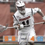 Syracuse scores twice in the third and shuts out Carolina. 8-4 Cuse heading into the fourth quarter https://t.co/Y6vg2JRHnG