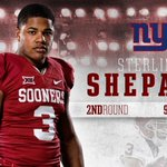 Sterling Shepard the first Sooner off the board!  #OUDNA heading to the Big Apple!  More ➡️ https://t.co/4WEpDTVwH1 https://t.co/86z1GZkhQC