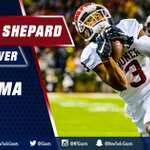 With the 40th pick, the #Giants draft Oklahoma WR Sterling Shepard! 🏈  HIGHLIGHTS: https://t.co/FZEvsERWIa https://t.co/jMqc5R3dhl