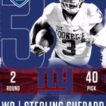 Congrats @sterl_shep3 - steal for the @Giants! #OUDNA #NFLDraft2016 https://t.co/2TxFfM68rI