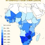 Which #Africa countries have the highest share of intra-African trade? #ITCdata https://t.co/AqZY9V5Pan