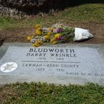 Headstone unveiled today at Union Cemetery for KC Deputy Harry Bludworth. He died in 1913 with no headstone. https://t.co/cbaW7Nisjx