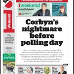"Saturdays i: ""Corbyns nightmare before polling day"" https://t.co/BgXYkD1JXC #BBCPapers #tomorrowspaperstoday (via @hendopolis)"