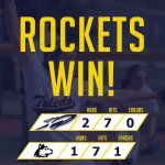 .@ToledoSoftball ends No. 1 Northern Illinois five-game win streak and extend their own win streak to eight! https://t.co/oNq9rOfWtX