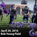 Come out to Bob Young Field tonight for the @USFCooFootball Spring Game. Kickoff set for 7:30pm. #CooPride https://t.co/SRyCdzPvtD