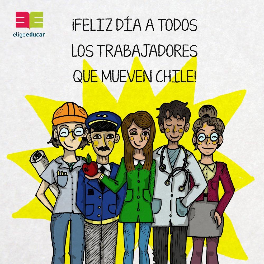 ¡Feliz #DíaDelTrabajador! Para todos a quienes trabajan en las distintas comunidades educativas de Chile https://t.co/KmUGdj0kxc