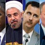 المجرمون الأربعة الذين يقفون وراء مجازر #حلب #حلب_تحرق https://t.co/YAUdqFx4mN