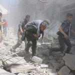 عاجل???? #المملكة تدين وتشجب بشدة غارات قوات #الأسد على مدينة #حلب. #حلب_تحترق #حلب_تباد #سوريا - https://t.co/k2IWr5Vlq1