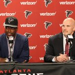 Keanu Neal is poised to make an impact. Video of his full introductory presser: https://t.co/UUdhaZsepf #ATLDraft https://t.co/23c2zFx0GW