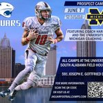 Come see us for camp June 7th, 1-4 PM with the Michigan staff!!! #WeAreSouth #OneHeartBeat https://t.co/gUeLprG5Zb