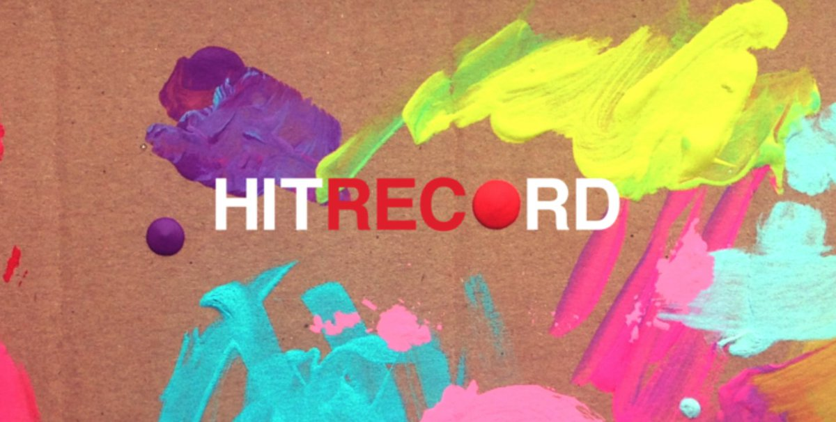 Alright, here's what is going on @hitRECord today... https://t.co/Pk028v0BFI https://t.co/nRZ7CkvGJ3