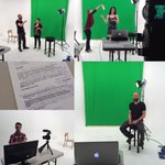 We are sponsoring @NotNowTVs #pilot episode! The events segment filmed in our #studio this morning. #TV #NotTV #YLW https://t.co/SHwBhydIb5