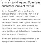 "Labour keen to stress ""other forms of racism"" will be looked at in anti-Semitism inquiry. https://t.co/Kh7Lkbgg6R"