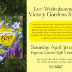A fabulous event put on by The Crazy Bee Lady we all know and love! This Saturday! #nativebees #savethebees #yvr https://t.co/lnzQj3Z5tD
