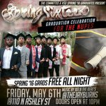 WE OUTTA HERE!!! #SpringSixteen THE OFFICIAL CELEBRATION https://t.co/dxcUh99Phr