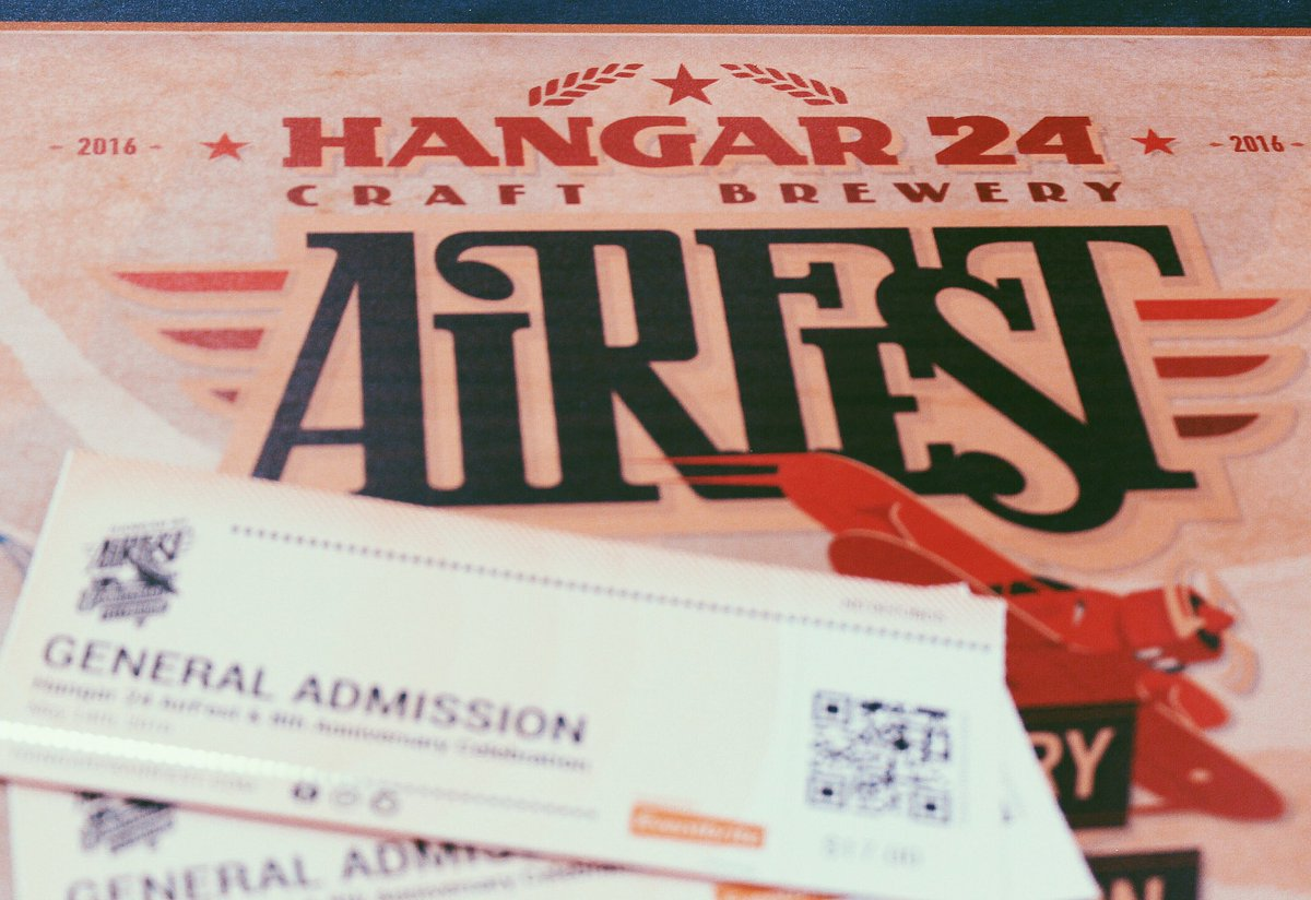 It's #FreeTicketFriday! RT this photo for your chance to win two tickets to the Hangar 24 AirFest! #H24AirFest