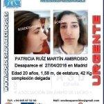 #Colabora Esta es Patricia y ha #desaparecido en #Madrid Si la ves 062 091 092 112 Tu RT puede ayudarla https://t.co/nfriga5p6l