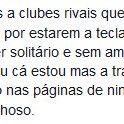 O gajo que escreve 3 ou 4 posts por dia no Facebook a falar de assuntos alheios ao Sporting disse mesmo isto? https://t.co/c9gzCJ8hWo