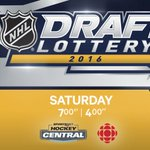 Its getting clooooooser. This time tomorrow tune in to CBC at 4pm PST for the #NHLDraft Lottery. https://t.co/t7oEQwDzYR