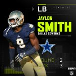 With the 3rd pick in the 2nd round, the Cowboys select LB Jaylon Smith. #DALpick https://t.co/mQ0bcrWbeJ