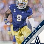 Jaylon Smith is Dallas bound! The Cowboys select Notre Dames LB 34th overall. https://t.co/5JwvNxKIm1