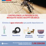Recomendaciones para eliminar potenciales criaderos del mosquito Aedes aegypti #NuestroNorteSinMosquito https://t.co/C4Vuy93NvF