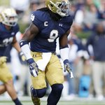 With the No. 34 pick, the Dallas Cowboys select LB Jaylon Smith out of Notre Dame https://t.co/7qduvAZ0Sy
