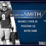 Welcome to Dallas @thejaylonsmith #CowboysDraft https://t.co/HW9tyXW2CT