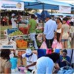 Ya en acción las ahorro-ferias #ElLempirita espacios para promover y vender productos 100% catracho. @JuanOrlandoH https://t.co/DZx5PU5qQQ