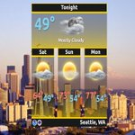 #Showers ending this evening. Mostly sunny, dry & above normal temps for start of #May in western WA. #wawx #Seattle https://t.co/K3jzKVkiQz